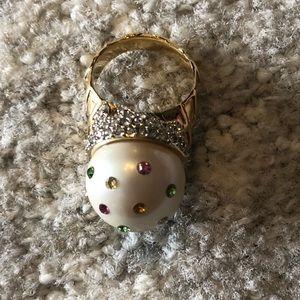 Kate Spade Disco Ball Ring